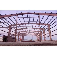 Buy cheap EPS PU Sandwich Panels Steel Building Frame , Steel Frame Office Buildings from wholesalers
