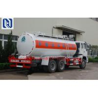 Buy cheap SINOTRUK Carbon Steel 60 Cfm Oil Tank Semi Flatbed Trailers For Oil Fuel Transport from wholesalers