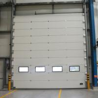 Buy cheap Warehouse Workshop Sectional Overhead Door Safety Commerical Garage Doors from wholesalers