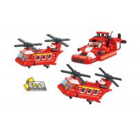 3 In 1 Transformer Fire Engine Building Blocks For Toddlers And Preschoolers