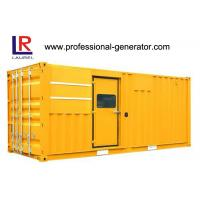 Buy cheap Four Stroke Low Oil Low Noise High RPM Industrial 618kVA Diesel Generating Set product