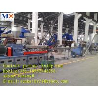 Buy cheap double stage plastic granulator line/PP/PE/ABS/EVA crumbles pelletizing line from wholesalers