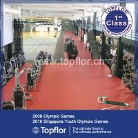 Buy cheap Commercial Gym Flooring Rubber For Fitness Centre from wholesalers