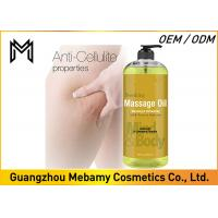 Buy cheap 100% Natural Skin Care Massage Oil ,  Relaxing Essential Oils For Massage  from wholesalers