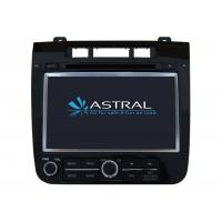 Buy cheap Auto Bluetooth DVD Player Touareg Navigation System with RDS / AM / FM / Rear view camera from wholesalers