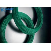 Buy cheap Green Color Galvanized Steel Wire Economical Small Diameter ISO9001 Approval from wholesalers