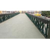 Buy cheap Modular Corrugated Steel Bridge Decking , Anti - Rust Painted Bailey Bridge Components from Wholesalers