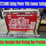 Buy cheap 1200 Vinyl Cutter Plotter Creation Pcut Cutting Plotter CT1200H Contour Cutting Plotter from wholesalers