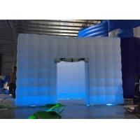 Buy cheap Fantastic Inflatable Event Tent , Indoor Led Inflatable Photo Booth from wholesalers