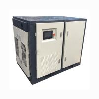 Buy cheap Two Stage PM VFD Rotary Screw Type Air Compressor 6.3m3 / Min 8 Bar 40HP 30KW from wholesalers