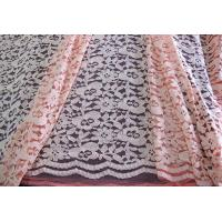Buy cheap Eco-friendly Cotton Nylon Lace Mesh Fabric Pink 145CM - 150CM Width CY-DK0025 from wholesalers