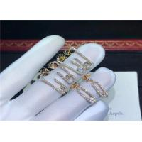 Buy cheap Sophisticated 18K Gold Messika Jewelry For Young Women Customization Available product