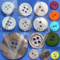 Buy cheap Akoya, Blacklip, Whitelip, MOP, Trocas  Shell Buttons from wholesalers