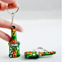 Buy cheap Custom cheap basketball promotional gifts soft pvc keychain from wholesalers