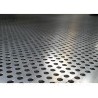 Buy cheap Mild Steel Perforated Metal Screen Corrosion Resistant Fashionable New Design from wholesalers