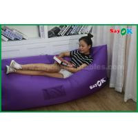 Buy cheap Logo Printed SayOK Inflatable Air Sofa Sleeping Couch Can Choose Color from wholesalers
