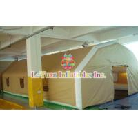Buy cheap Large Tent  Inflatable for Group Camping Event , High Tarpaulin Closed Air Tent from wholesalers