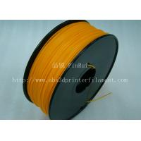Buy cheap Markerbot , Cubify  3D Printing Materials HIPS Filament 1.75mm / 3.0mm Orange Color from wholesalers