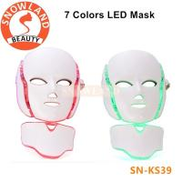 Buy cheap Infrared Light Face and Neck Whitening Facial Mask Face Lifting LED light Therapy Mask from wholesalers