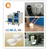 Buy cheap ROHS Approved High Frequency Induction Heating Equipment Melting Gold from wholesalers