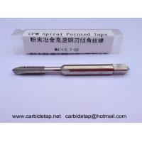 Buy cheap CPM Tap M4x0.7 spiral pointed, Machine tap Hand tap, Powder HSS, PM-HSS-E from wholesalers