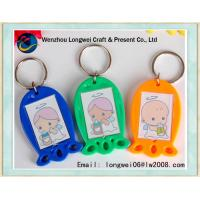 Buy cheap Photo Insert Personalized Photo Keychains Acrylic With Vivid Colors from wholesalers