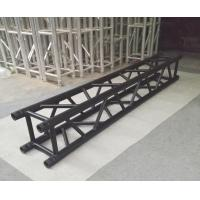 Buy cheap Indoor Stage Lighting Truss , 4 Sides Brace Tube 290 * 290mm Black Aluminum Spigot Truss from wholesalers