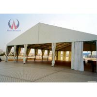 Buy cheap Spacial Ridge Shape Outdoor Wedding Ceremony Tent , Metal Work Backyard Party Tent from Wholesalers