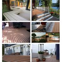 Quality Composite decking with High Quality, Outdoor cheapwpc decking for sale