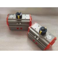 Buy cheap aluminum alloy body pneumatic actuator mounting plate rotation angle 90 ° from wholesalers
