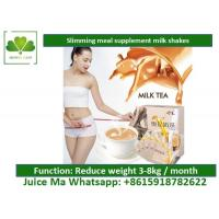 Lightly Brown Natural Meal Replacement Shakes Satiety Milk Tea For Weight Loss