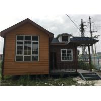 Buy cheap 56㎡ Lightweight Cement Board Wall Prefab Steel House With Asphalt Shingle from wholesalers