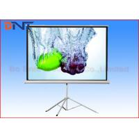 Buy cheap 120 Inch Portable Projection Projector Screen With Tripod Stand Manual Fixed Lock from wholesalers