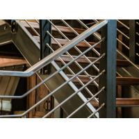 Buy cheap Beautiful Stainless Steel Railing / Stainless Steel Pipe Handrail T19001 Approved from wholesalers