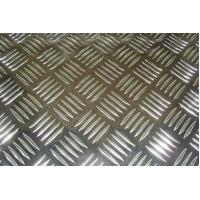 Buy cheap 5 Bar Aluminium Chequer Plate Tread Sheet Continuous Casting for Car and Ship from wholesalers