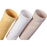 Buy cheap Cement Silo Polyester Felt Filter Bag 2000 - 9000mm Length 190 Degree Working Temperature from wholesalers