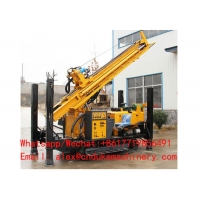 Buy cheap China hot sale diesel engine driven Small Folded Hydraulic Water Well Drilling Rig from wholesalers