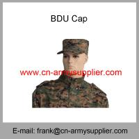 Buy cheap Wholesale Cheap China Military Camouflage Army Soldier BDU Cap from wholesalers