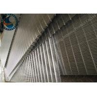 Buy cheap V Shape Wedge Wire Screen Panels For Mineral Processing Self Cleaning from wholesalers