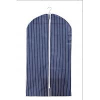 Buy cheap Fashion Non Woven Fabric 100cm Suit Storage Covers Blue And White Stripe from wholesalers