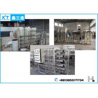 Buy cheap Semi-auto 2 Stage RO System Drinking Water Treatment Equipment with Reverse Osmosis Membrane from wholesalers