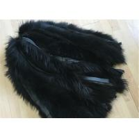 Buy cheap Jacket Raccoon Mens Fur Collar 100% Handmade With Customized Colors / Size from wholesalers