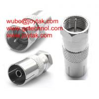Buy cheap Coaxial Adapter Coaxial Adaptor PAL Female To F Male TV Cable Adapter Connector / FM.PALF from wholesalers