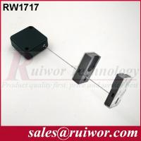 Buy cheap 44x44x16MM White / Black Security Pull Box With Adhesive Magnetic Display Holder End from wholesalers