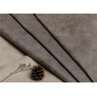 Buy cheap 1.2 Mm Polyester Suede Leather Fabric Plain Style For Hometextile / Sofa from wholesalers