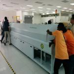 Buy cheap 10 Temperature Zones Solder Reflow Oven / Reflow Soldering Machine RF1020PC from wholesalers
