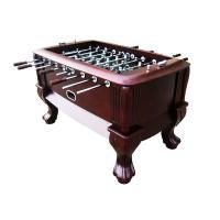 Classic Sport Foosball Table , Standard Foosball Table With Solid Wood Claw Leg