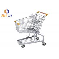 Buy cheap German Grocery Shopping Trolley With PU Wheels For Supermarket Chains from wholesalers