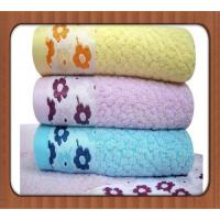 Buy cheap comfortable superfine bamboo cotton mixed face towel/square towel on sale product