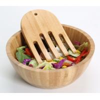 Buy cheap hot sale bamboo fruit bowl with high quality and eco-friendly bamboo fruit bowl from wholesalers